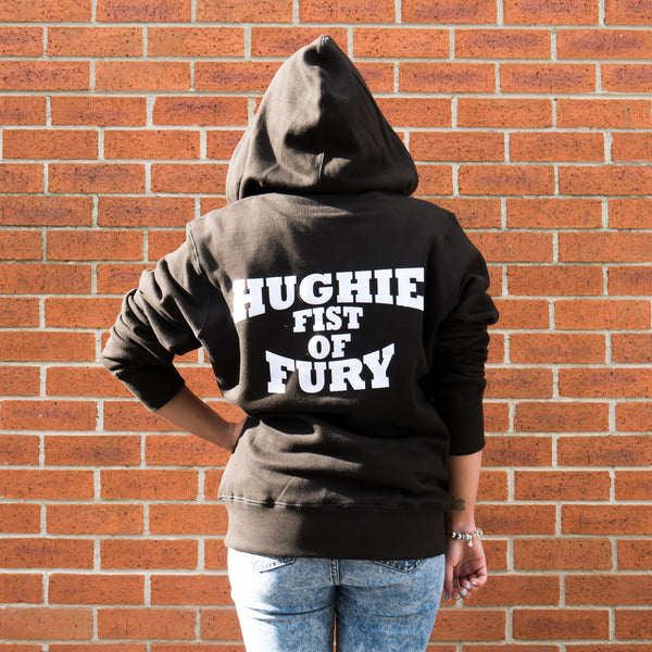 HFHOODB - Black Hughie Fist of Fury Hoody