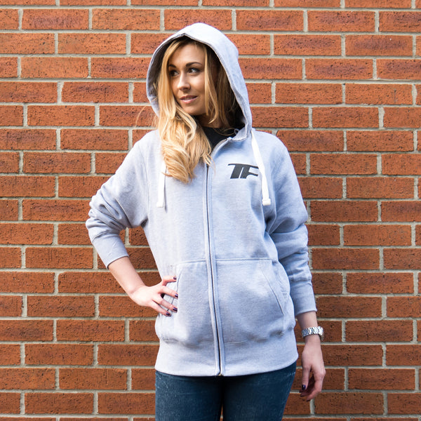 HFHOODG - Grey Hughie Fist of Fury Hoody