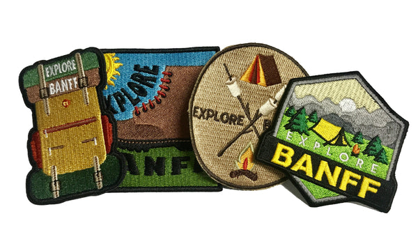Explore Banff - Patch 4 Pack - Explore Banff