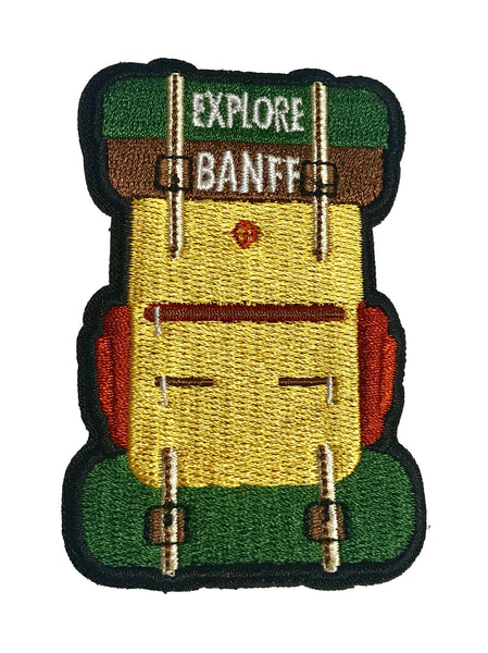 Explore Banff - Rucksack Patch - Explore Banff