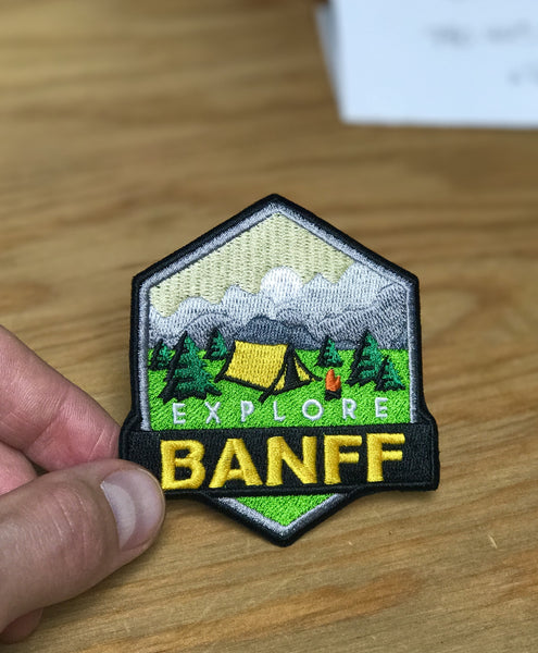 Explore Banff - Warden Patch - Explore Banff