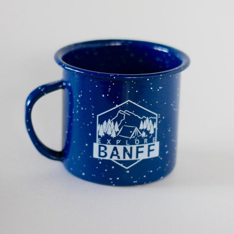 Explore Banff - Hut Life Camp Mug