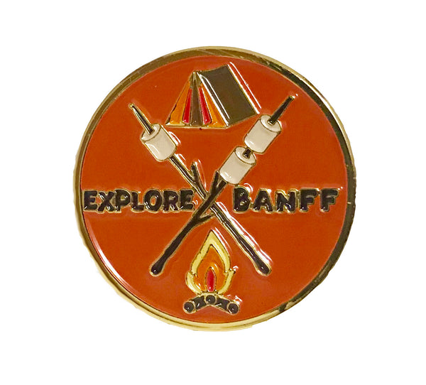 Explore Banff -Mallow Vibes Pin - Explore Banff