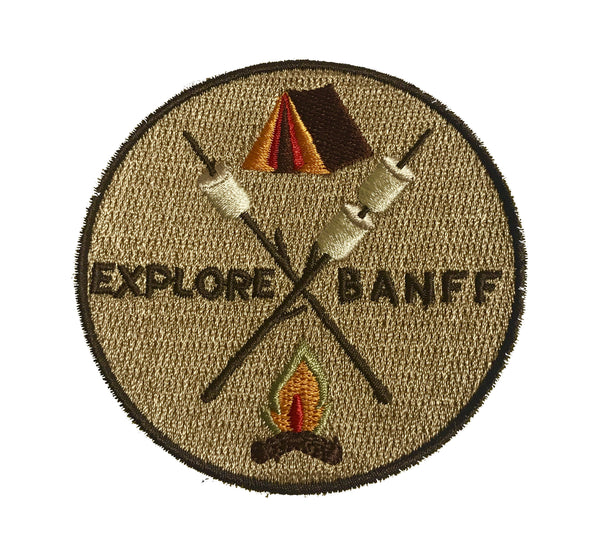 Explore Banff - Mallow Vibes Patch - Explore Banff