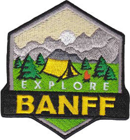 Explore Banff - Warden Patch