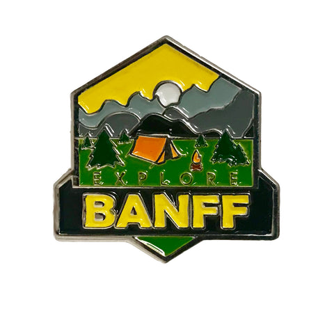 Explore Banff -Warden Pin
