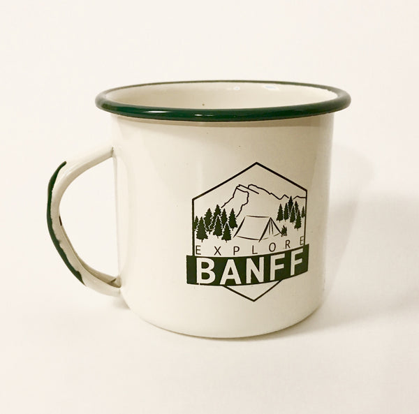 Explore Banff - Hut Life Camp Mug - Explore Banff