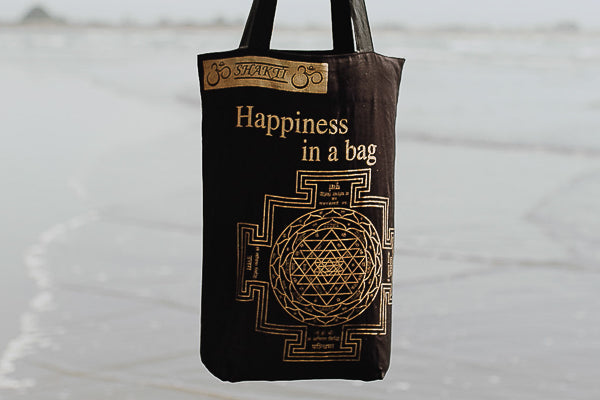 Shakti Happiness Bag - Black