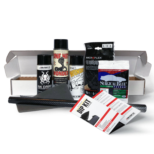CARBON FIBER HYDROGRAPHIC DIP KIT