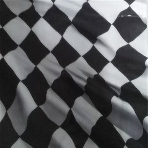 Checkered Racing Flag Hydrographic Film