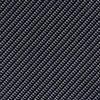 Classic Black Clear Carbon Fiber Hydrographic Film