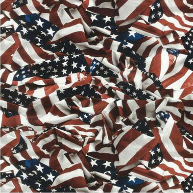 Large American Flag Hydrographic Film