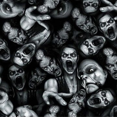 Screaming Zombies Hydrographic Film