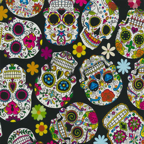 Sugar Skulls Day of the Dead Hydrographic Film