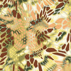 Yellow and Brown Hex Camo Hydrographic Film