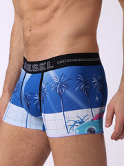 UMBX Damien Boxer Shorts Blue Multi