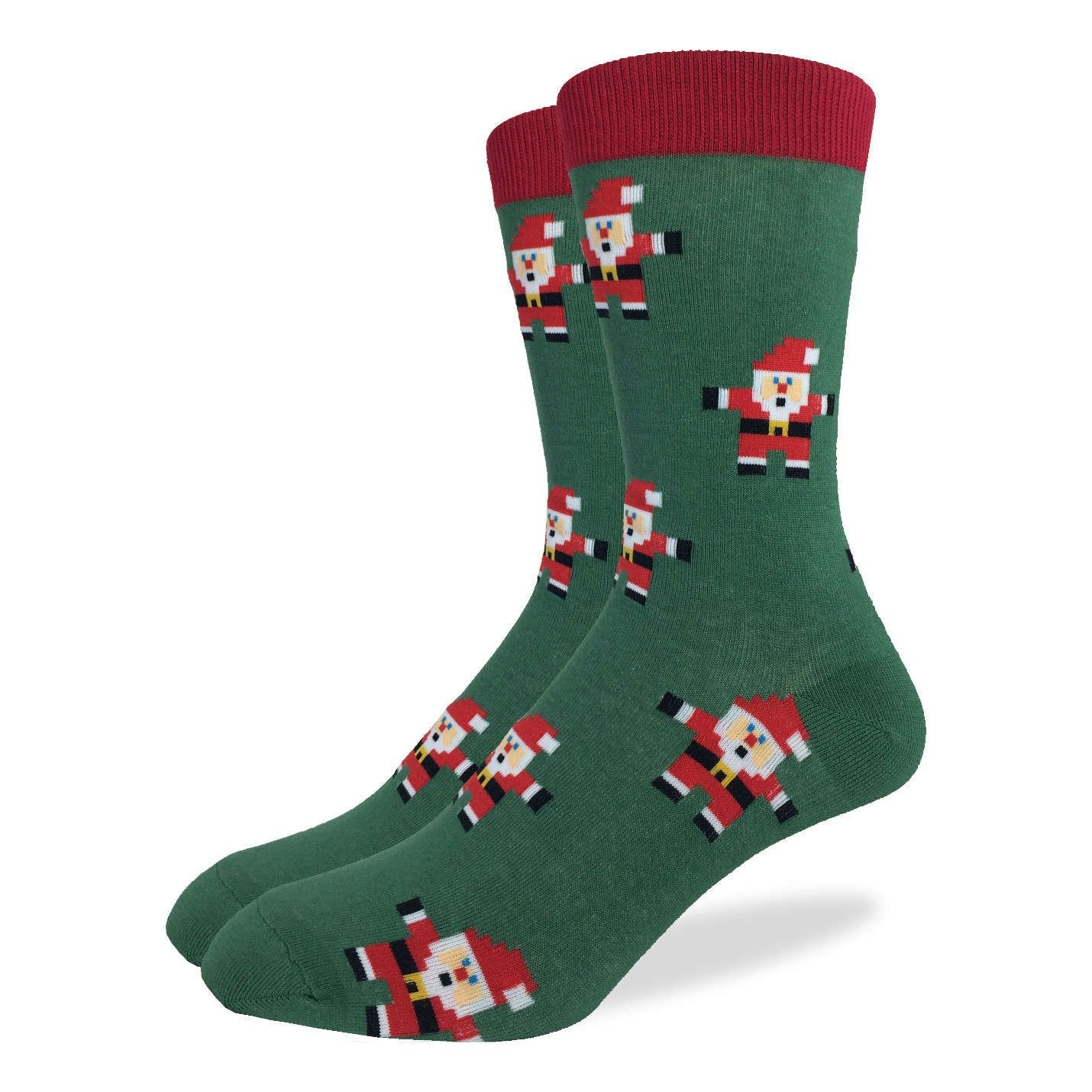 Santa Claus Crew Socks