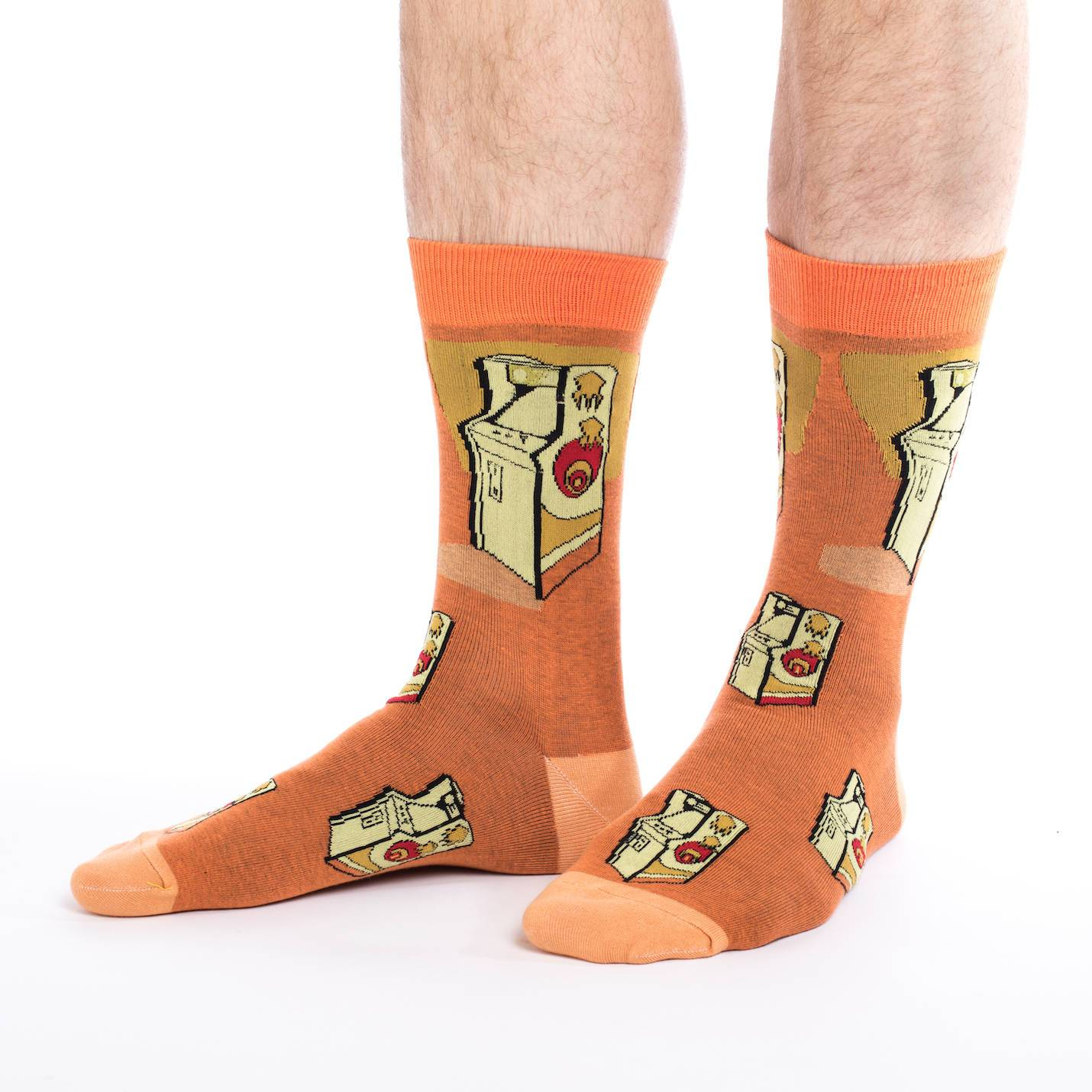 Arcade Machine Crew Socks