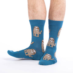 Hello Sloth Crew Socks