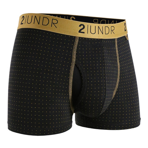"Swing Shift 3"" Boxer Brief - Pin Dot"