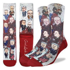 Canadian Prime Ministers Active Fit Socks