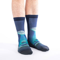 Active Fit Socks - UFO Abduction Socks