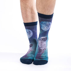 Active Fit Socks - Astronaut with Balloon