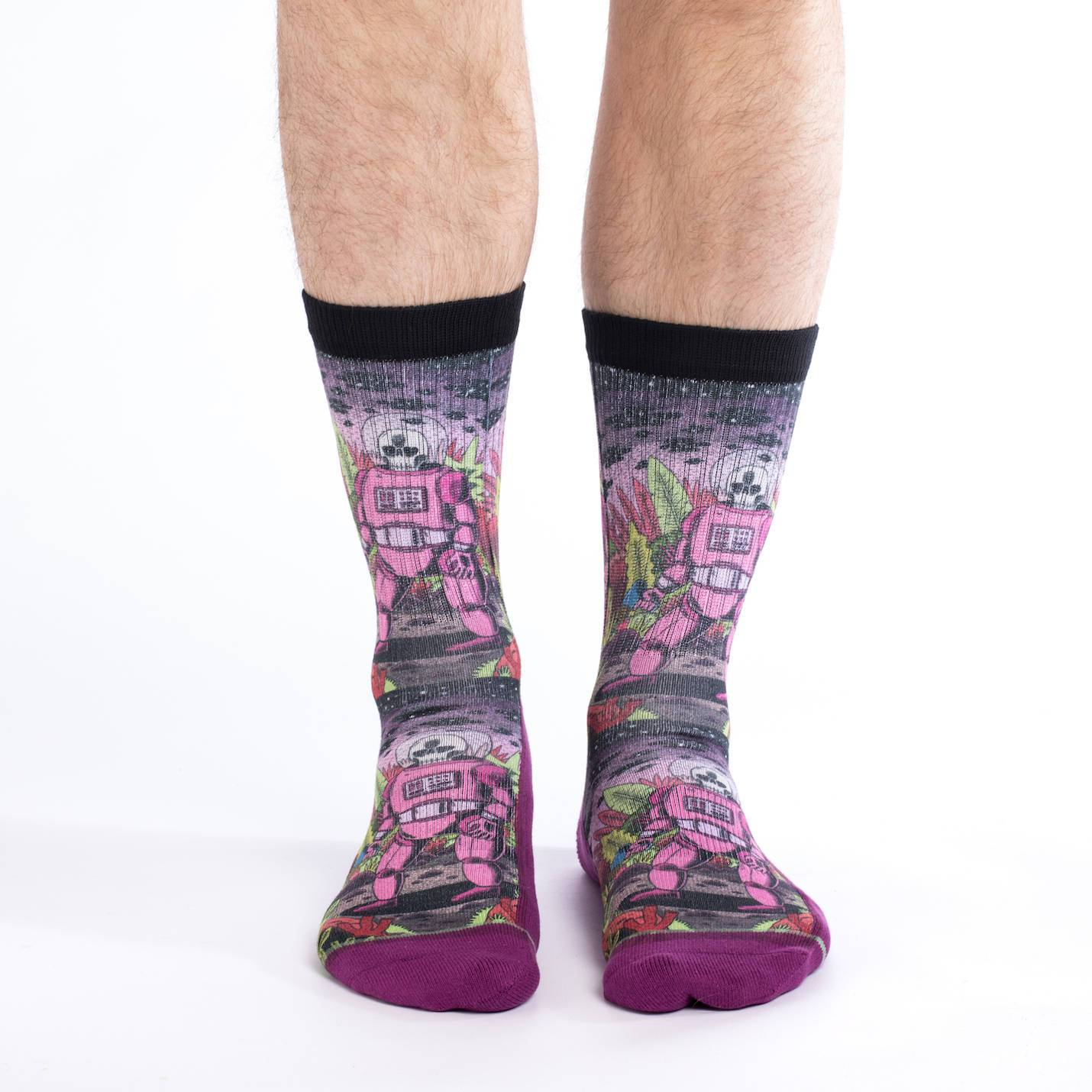 Active Fit Socks - Space Skeleton