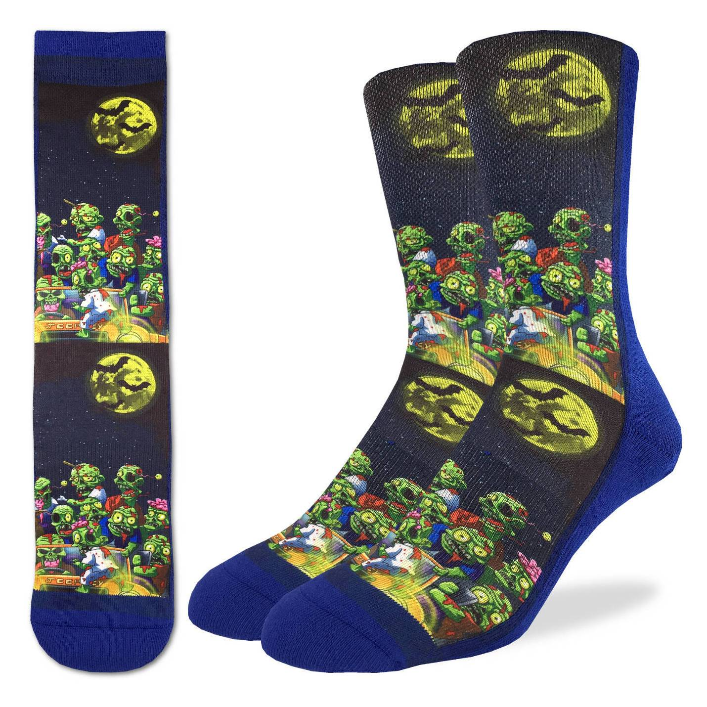 Active Fit Socks - Zombie Ride