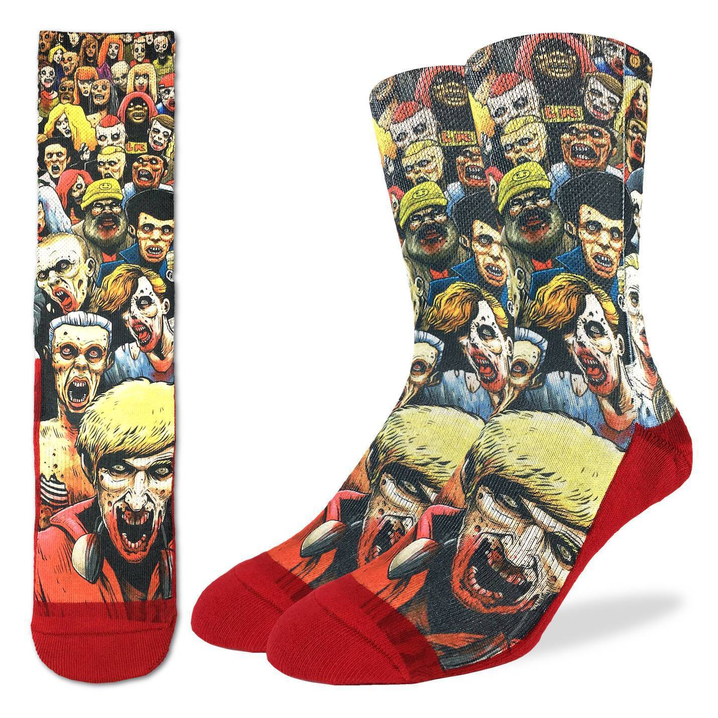 Good Luck Socks - Zombie Horde
