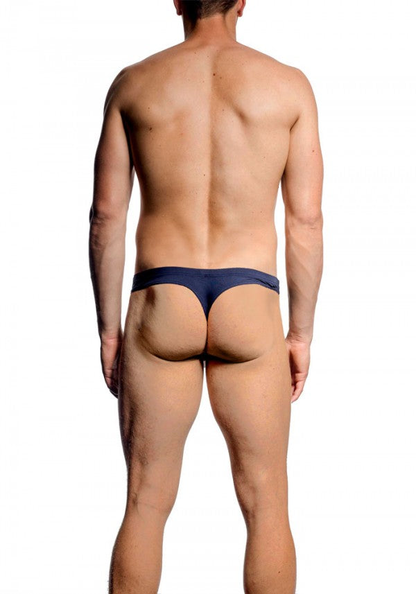 JM Skinz Mini Slip Thong Navy
