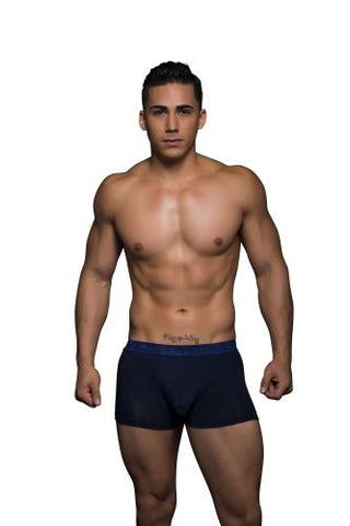 Almost Naked Navy Tagless Bamboo Boxer