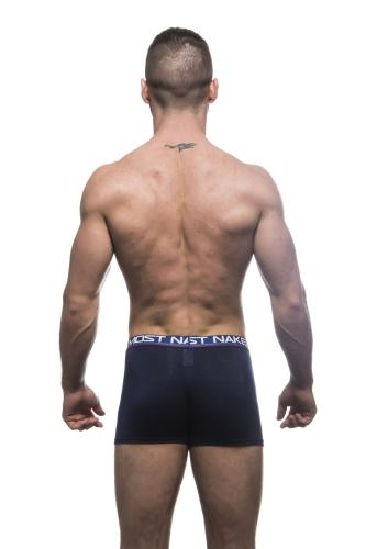 Almost Naked Tagless Royal Blue Tagless Boxer