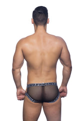 FUKR Crave Mesh Brief - Black