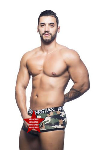 Camouflage C-Ring Boxer