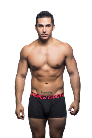 Andrew Christian Almost Naked Premium Boxer - Charcoal