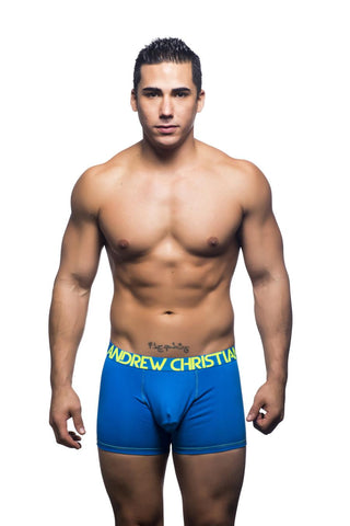 Andrew Christian Almost Naked Premium Boxer - Electric Blue