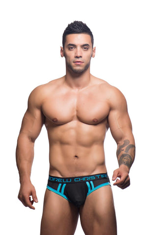Andrew Christian Air Jock - Black