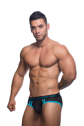 Andrew Christian Air Brief - Black