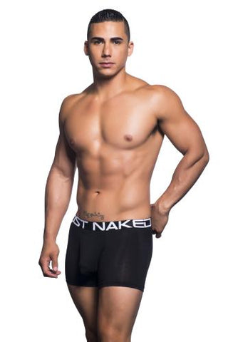 Almost Naked Tagless Premium Boxer Black