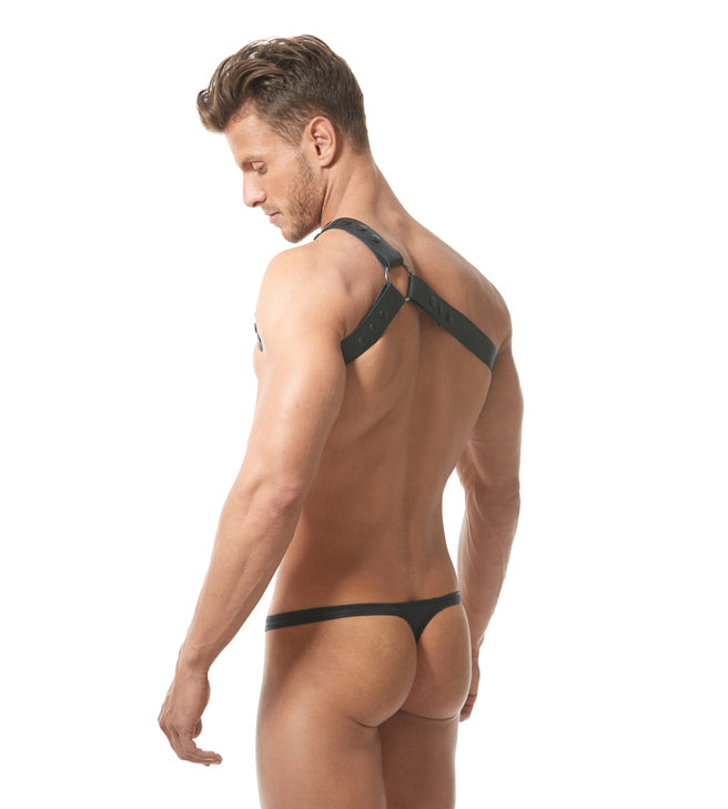 Bonded Harness Top Black