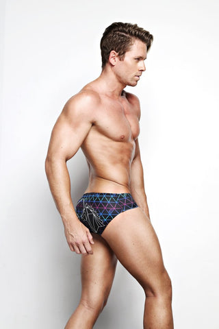 Dark Tetra Swim Briefs
