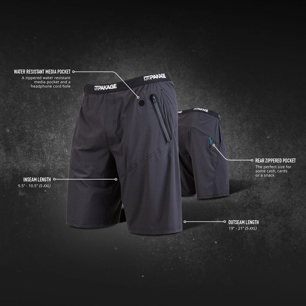 Pro Series Black 2in1 Short