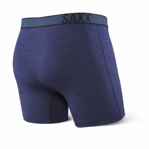 Black Sheep Open Fly Boxer Navy Heather