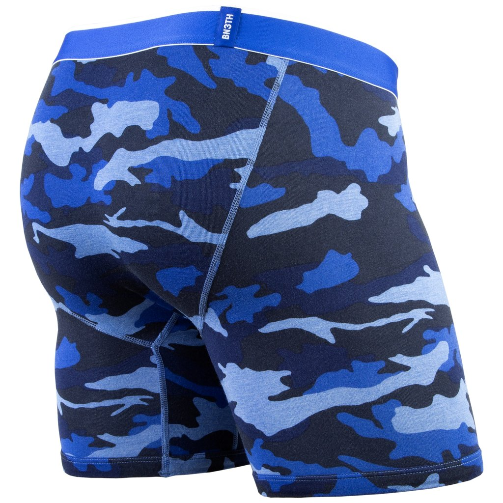 Classic Boxer Brief - Heather Camo Blue