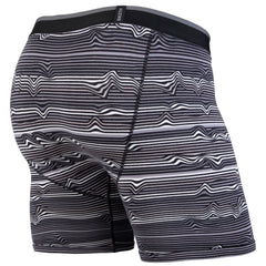 BN3TH Classic Boxer Brief - Black Warp Stripe