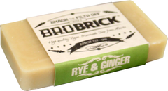 Brock Brick Soap Alberta Rye and Ginger