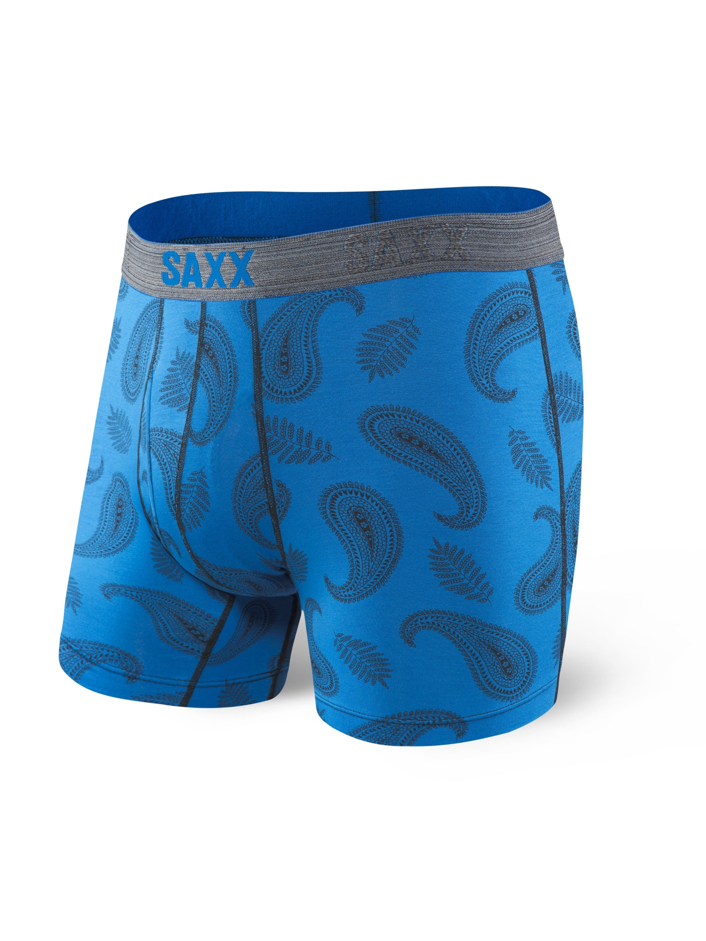 Saxx Platinum - Blue Pop Paisley
