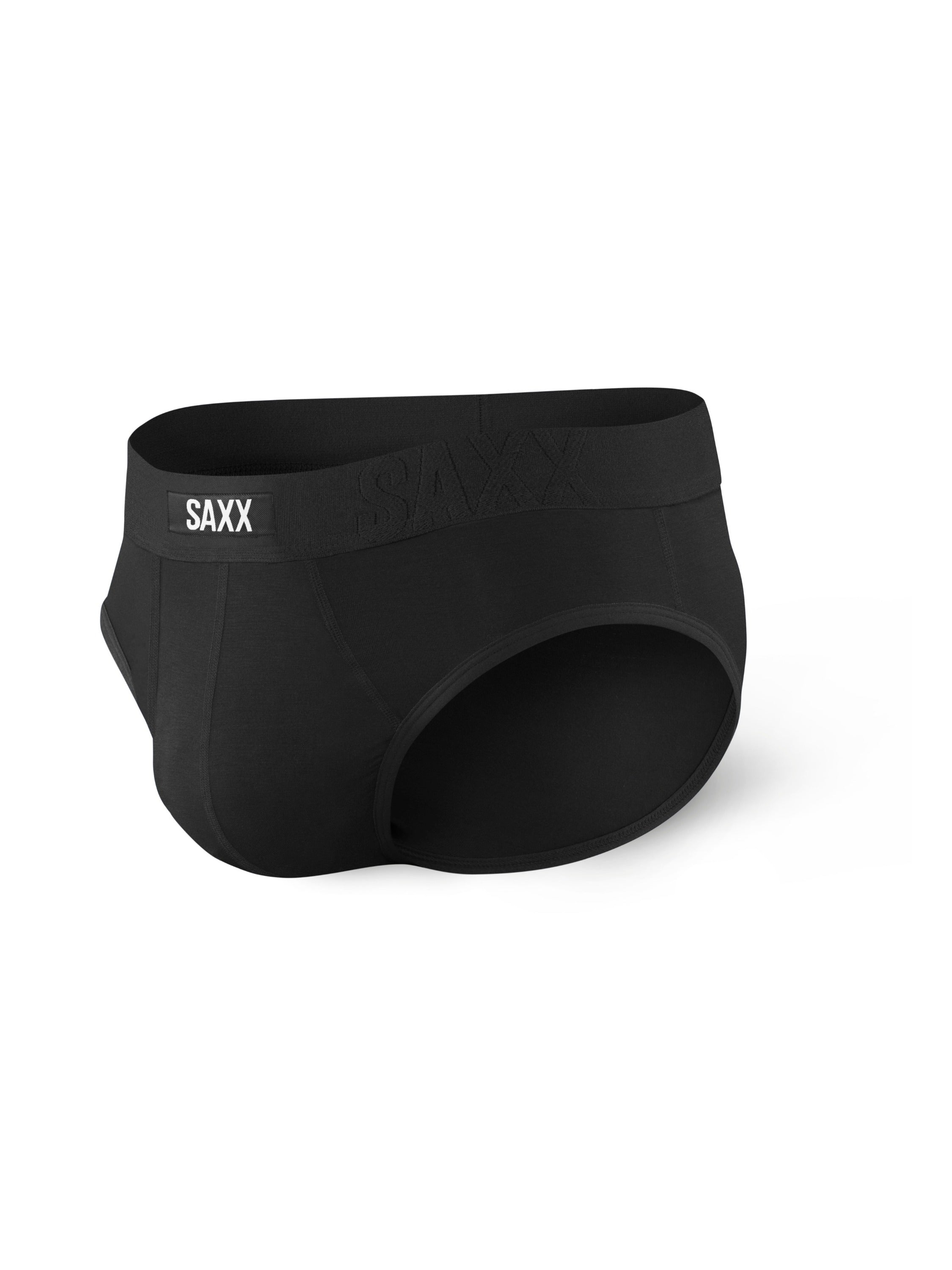 Saxx Black Brief