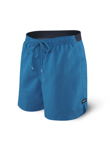 "Cannonball 7"" 2in1 Swim Short Pure Blue"
